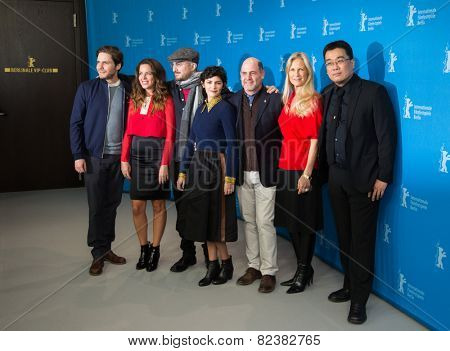BERLIN- FEBRUARY, 05: International Jury of Berlinale. Photo Call at Hyatt Hotel, February, 05, 2015 in Berlin, Germany