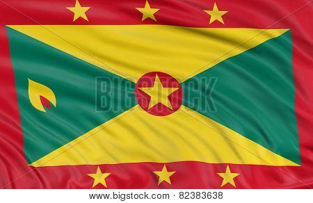 3D Grenada flag
