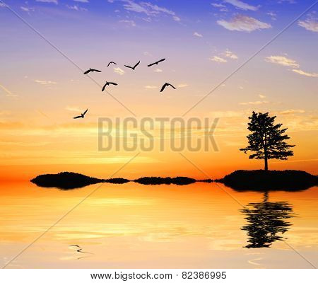 fantasia on the lake