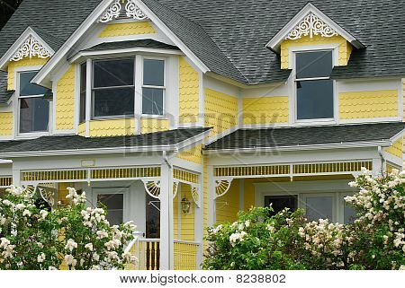 Historic Bright Yellow Home