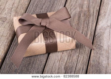 Small Brown Gift