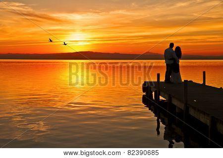 when love reaches the lake