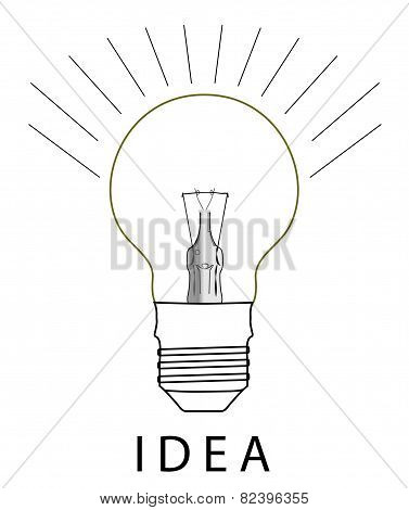 Glass Bulb Logo
