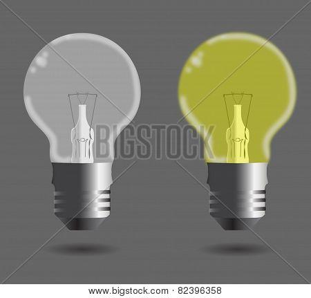 Set Of Glass Bulb