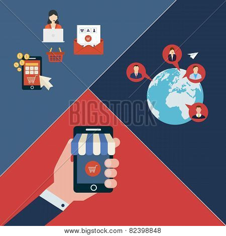 Icons for mobile marketing