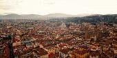 Постер, плакат: Roofs Of Florence From Campanile Of Florence Cathedral East Side