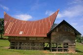 picture of southeast  - Traditional Batak house on Samosir island Sumatra Indonesia Southeast Asia - JPG
