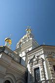 stock photo of sevastopol  - the One of churches in city Sevastopol - JPG