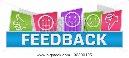 Feedback Colorful Rounded Squares