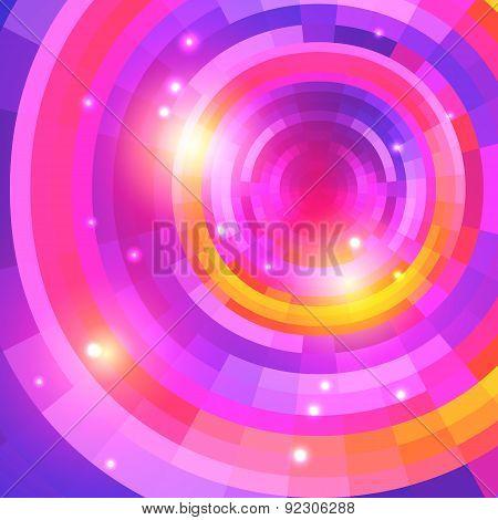 Mosaic Spectrum Background_purple