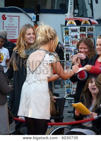 Emily Atack At The Death And Life Of Charlie St Cloud Premiere In Central London 16Th September 2010