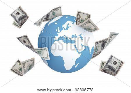 Dollar Banknotes Around World