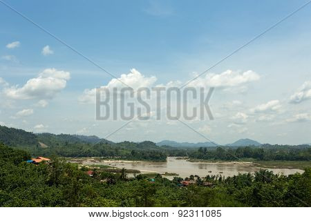 Mekong River High Angle