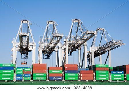 Port Rotterdam Ect