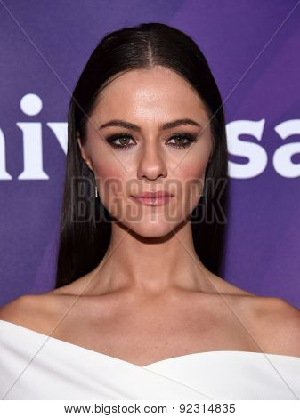 LOS ANGELES - APR 02:  Alexandra Park arrives to the NBCUniversal's Summer Press Day 2015  on April 02, 2015 in Hollywood, CA