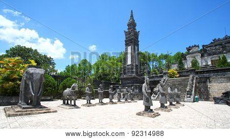Statues Hue, Vietnam
