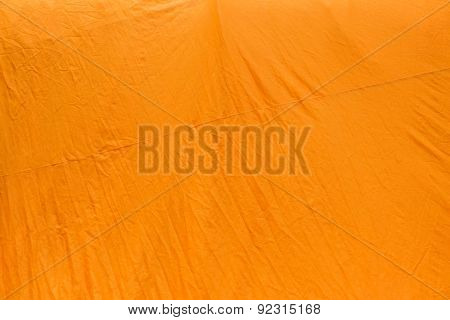 yellow monk robe fabric texture