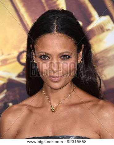 LOS ANGELES - MAY 07:  Thandie Newton arrives to the