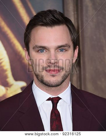 LOS ANGELES - MAY 07:  Nicholas Hoult arrives to the