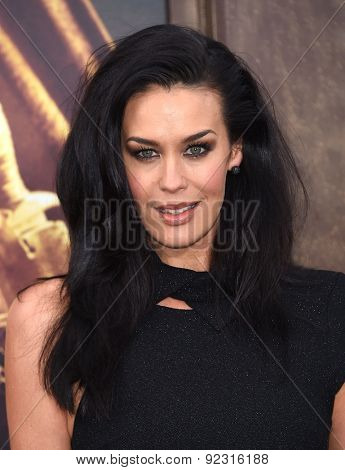 LOS ANGELES - MAY 07:  Megan Gale arrives to the