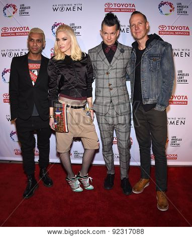 LOS ANGELES - MAY 16:  No Doubt arrives to the An Evening With Women  on May 16, 2015 in Hollywood, CA