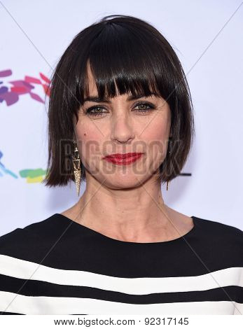 LOS ANGELES - MAY 16:  Constance Zimmer arrives to the An Evening With Women  on May 16, 2015 in Hollywood, CA
