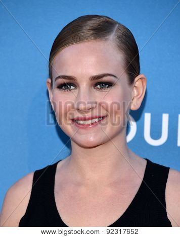 LOS ANGELES - MAY 30:  Britt Robertson arrives to the MOCA Annual Gala 2015  on May 30, 2015 in Hollywood, CA