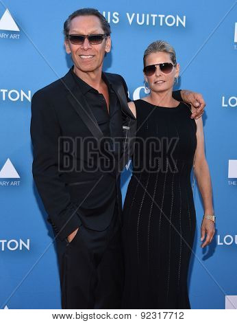 LOS ANGELES - MAY 30:  Alex Van Halen & Stine Schyberg arrives to the MOCA Annual Gala 2015  on May 30, 2015 in Hollywood, CA