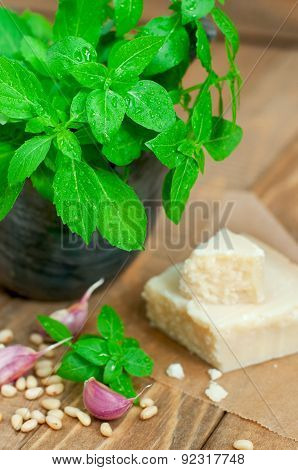Basil And Parmesan