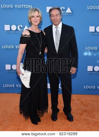 LOS ANGELES - MAY 30:  Joanna Kerns & Marc Appleton arrives to the MOCA Annual Gala 2015  on May 30, 2015 in Hollywood, CA