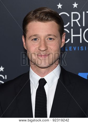 LOS ANGELES - MAY 31:  Benjamin McKenzie arrives to the Critic's Choice Television Awards 2015  on May 31, 2015 in Hollywood, CA