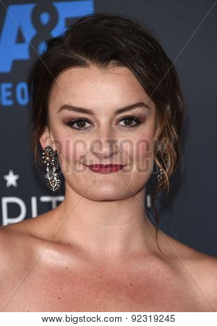 LOS ANGELES - MAY 31:  Alison Wright arrives to the Critic's Choice Television Awards 2015  on May 31, 2015 in Hollywood, CA