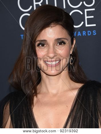 LOS ANGELES - MAY 31:  Shiri Appleby arrives to the Critic's Choice Television Awards 2015  on May 31, 2015 in Hollywood, CA
