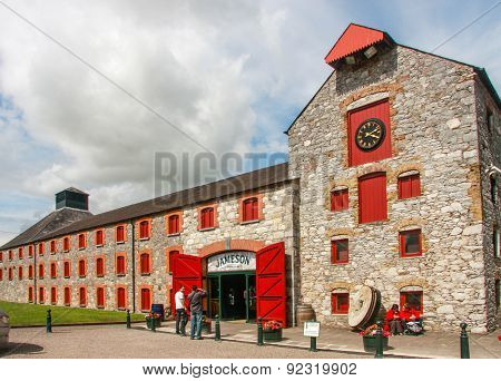 Cork, Ireland - June 20, 2008:  The Jameson Heritage Centre  In Midleton Co. Cork, 12 Miles East Of