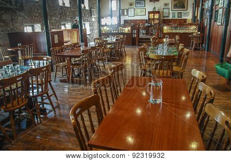 Cork, Ireland - June 20, 2008:  Tasting Hall In Museum Of Irish Whiskey. The Jameson Heritage Centre