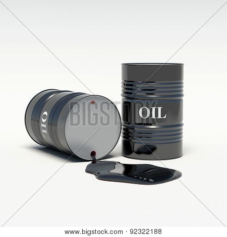Oil Barrels Of Oil Spills
