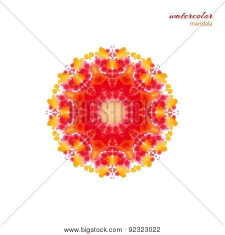 circular element, mandala