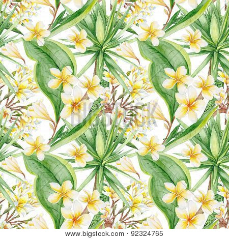 Botanic Tropical Pattern