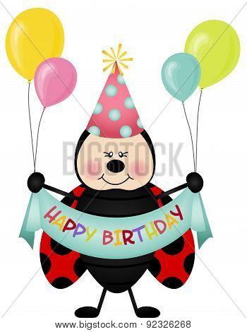 Happy birthday ladybird
