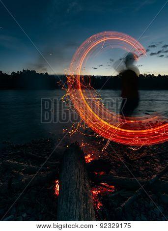 Man - Bonfire