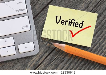 verified concept