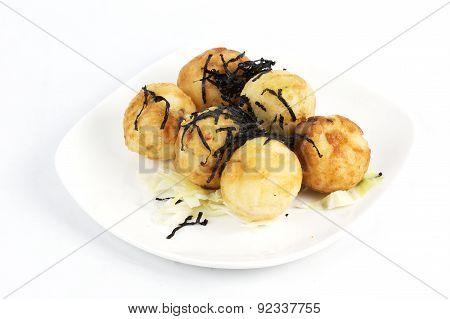 Takoyaki Balls Dumpling