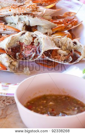 crab seafood in thailand