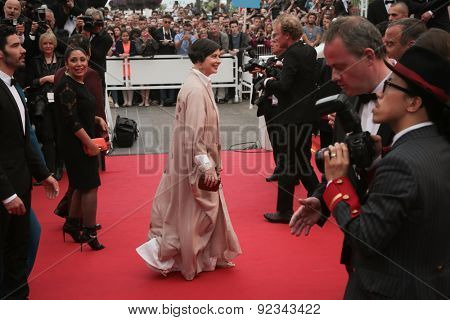 Isabella Rossellini attend Premiere of 'Mad Max: Fury Road' during the 68th annual Cannes Film Festival on May 14, 2015 in Cannes, France.