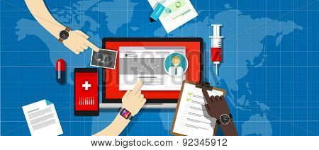 health medical record information system hospital