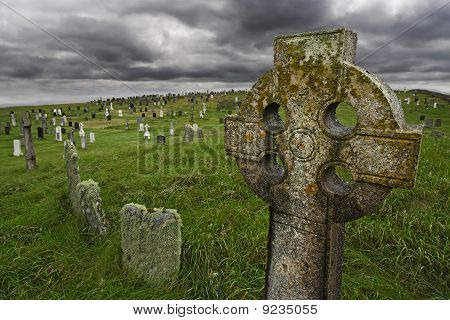 Old Celtic Gravesite