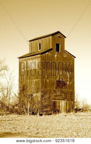 Old Grain Silo