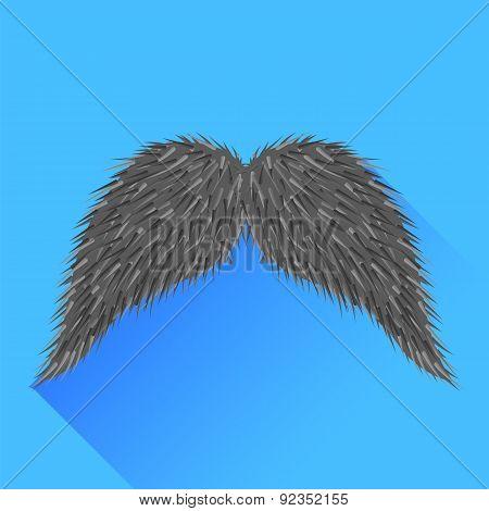 Grey Mustache
