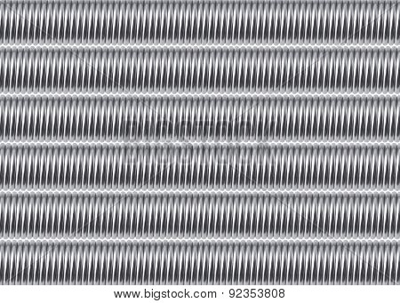 Abstract Background Composed Of Metal Springs