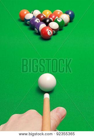 Game Of Billiards
